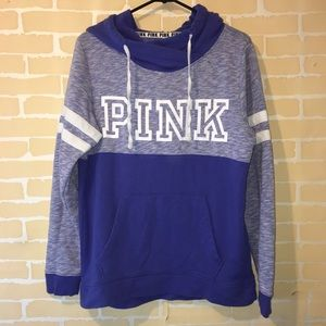 Pink Victoria's Secret purple hoodie medium